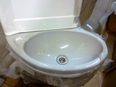 Replacement bathroom sink unit swift/ autocruise.